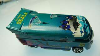 Hot Wheels VW Drag Bus us navy seals loose