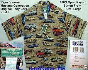 NEW REYN SPOONER FORD MUSTANG AMERICAN SPORTS CAR L 703983950422