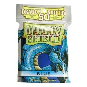 Dragon Shield Card Supplies STANDARD Card Sleeves Blue 50 Count