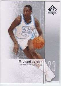 2011 12 SP Authentic #1 Michael Jordan North Carolina Tar Heels