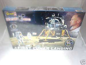 FIRST LUNAR LANDING 1/48 REVELL MODEL KIT APOLLO NASA