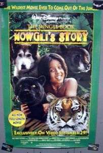 Movie Poster WALT DISNEYS Jungle Book MOWGLIS STORY