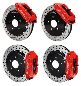 Front & Rear Disc Brake Kit Wilwood 140 10616 DR +