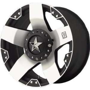 XD XD775 24x12 Machined Black Wheel / Rim 8x6.5 with a  44mm Offset