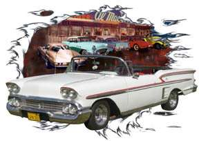 You are bidding on 1 1958 White Chevy Impala Convertible Custom