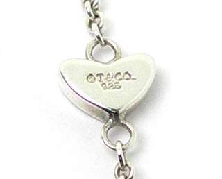 BEAUTIFUL STERLING SILVER TIFFANY & CO. HEARTS NECKLACE