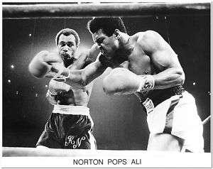 BOXING  KEN NORTON POPS MUHAMMAD ALI   FIGHT #2