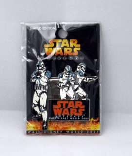 Disney Star Wars Weekends 2005 Pin Clone Trooper