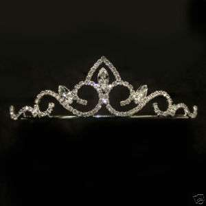 Bridal Prom Swarovski Crystal Wedding Crown Tiara