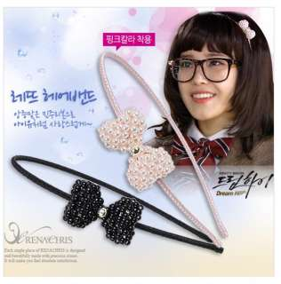 Dream high Korean IUs Pearls Ribbon Headband/ORIGINAL