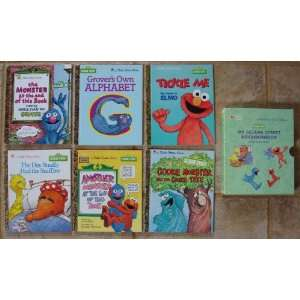 Books Boxed Set (Cookie Monster and the Cookie Tree ~ The Monster