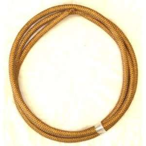 Hose w/Braided Cover   Fits Flexible Fuel Lines & Vacuum Hoses   1Ft