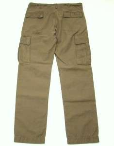 Levis Vintage Collection Olive Cargo Pants Tag 31 Actual 34