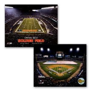 US Cellular Field and Soldier Field , 20x16 Home