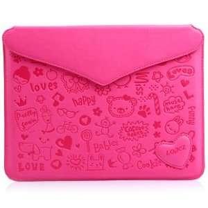 Cute Magic Girl Cartoon Smart Cover Shell Pu Leather Case