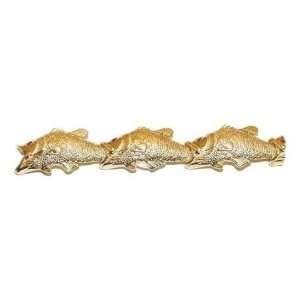 Reyes del Mar 14K Gold Mans Bass Bracelet Sports