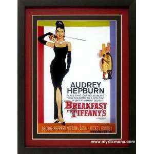 Audrey Hepburn Breakfast At Tiffanys Movie Poster