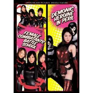 Female Combatants Battle School & Demonic Heroine in Peril