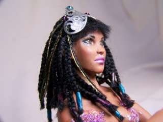 OOAK Fantasy African Fairy Mermaid art doll sculpture ADSG IADR Kate