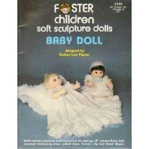Children Soft Sculpture Dolls Baby Doll Esther Lee Foster Books