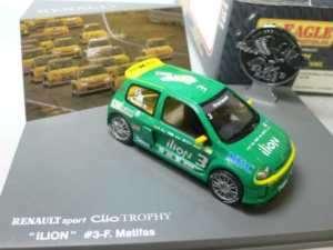 RENAULT SPORT CLIO TROPHY ILION #3 MATIFAS EAGLE UH