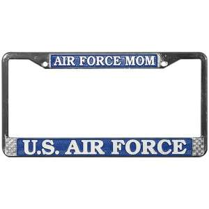 USAF AIR FORCE MOM MOTHER AUTO LICENSE PLATE FRAME VR2