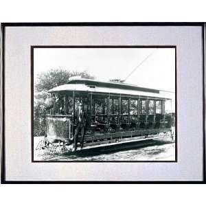 Chicago Trolley Cars   Vintage Chicago Wall Art Home