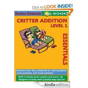 Critter Addition Essentials Level 1 Essential Math Facts Presented