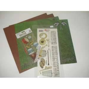 12 X 12 Marching Band Scrapbook Kit I: Everything Else