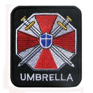 NEXT FREE SHIPPING Umbrella Corp Biohazard Resident Evil Patch Badge