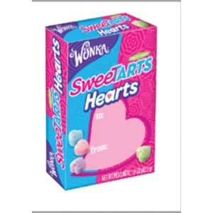 Wonka Sweetarts Hearts Valentines Day Box, 1.5 Ounce Boxes (Pack of 27
