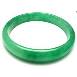 Green Jadeite Jade Bangle 60MM JB3356G Jewelry