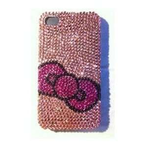 iPhone 4g Crystal Diamond Bow Tie Bling Bling Design Hard
