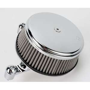 Arlen Ness Big Sucker Stage I Air Filter Kit with Cover   Stainless