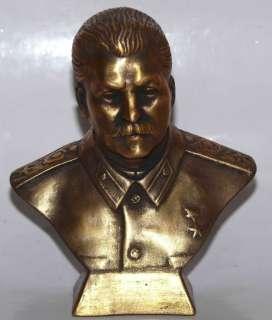 Soviet Russian communist STALIN bust statue Lenin H11