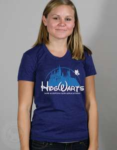 Applications Funny Harry Potter American Apparel Ladies TR301 T Shirt