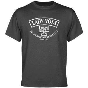 UT Vol Tee Shirt : Tennessee Lady Vols Charcoal Heritage T