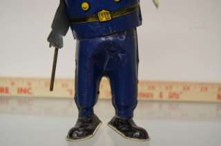 1920s UNIQUE ART CASEY THE COP RARE TIN TOY WIND UP POLICE KEYSTONE