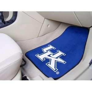 University of Kentucky LOGO B   Car Mats 2 Piece Front