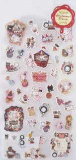 San X Sentimental Circus Sticker Sheet (SE08101)~KAWAII