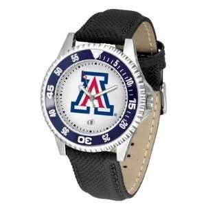 Arizona Wildcats UA NCAA Mens Leather Wrist Watch Sports