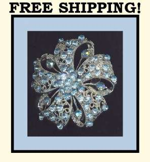 Wedding Brides Bridal Flowers Jewelry Pins Brooches Broaches