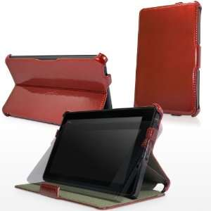 BoxWave Ruby Patent Leather Kindle Fire Book Jacket (Slim