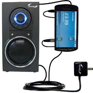 10 Watt Battery Powered Portable Amplified Audio Speaker with Dual