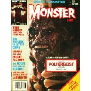Magazine Number #10 (Curse of Frankenstein): James Van Hise: Books