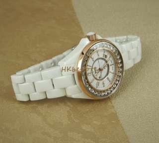 New Lady/Girls High Quality White Ceramic Watch NS