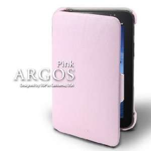 Galaxy Tab Leather Case Argos Series [Pink] Cell Phones & Accessories