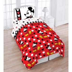 Mickey Mouse Twin 4pc Bedding Set Comforter & Sheet Set Single