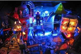 TWILIGHT ZONE Pinball BLUE playfield light mod