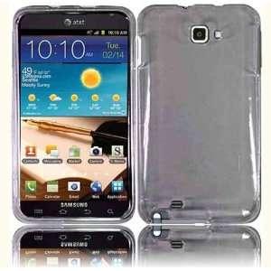 VMG Samsung Galaxy Note Hard Case Cover 2 ITEM COMBO   SMOKE Hard 2 Pc